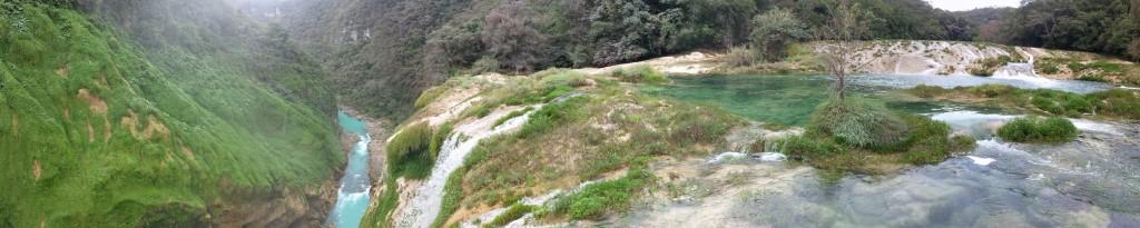 vue du haut de la cascade