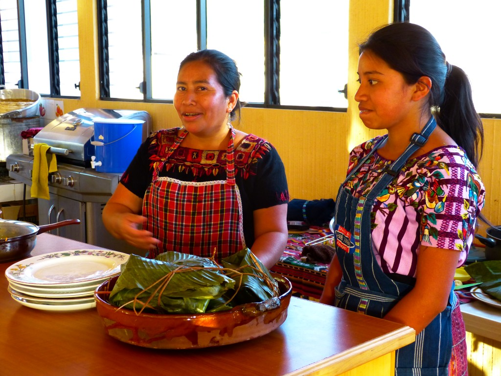 cours de cuisine ,Guatemala