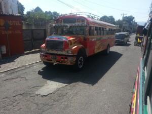 Bus au Guatemala