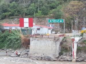 Frontière Equateur/Peru