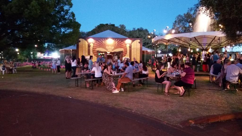 Fringe festival, Perth